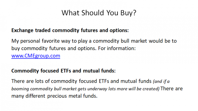 What Should You Buy