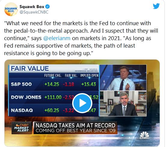 Squak Box Tweet