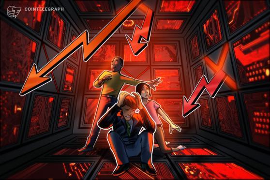 Altcoins nurse double-digit losses as Bitcoin bulls fight to retake $49K