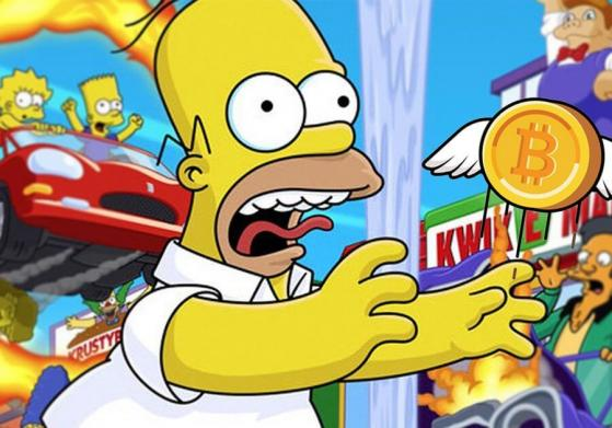 """Bitcoin to the moon, """"The Simpsons"""" episode predicts"""