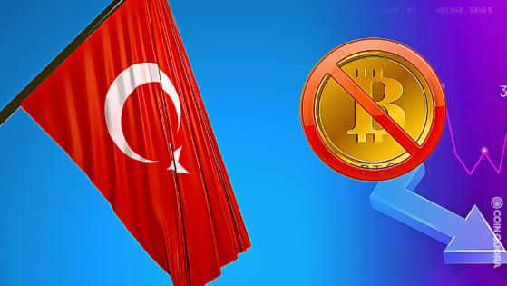 BTC Price Fell After Turkey Bans Crypto Payments
