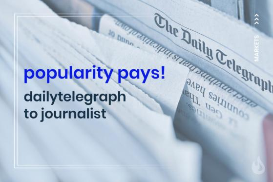 The Daily Telegraph Plans to Pay Journalists Based on Article Popularity