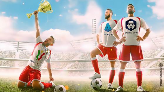 Crypto.com Sponsors Italian Soccer For Coppa Italia Final