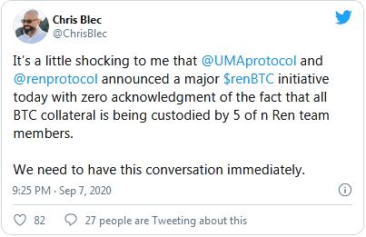 Chris Blec Tweet
