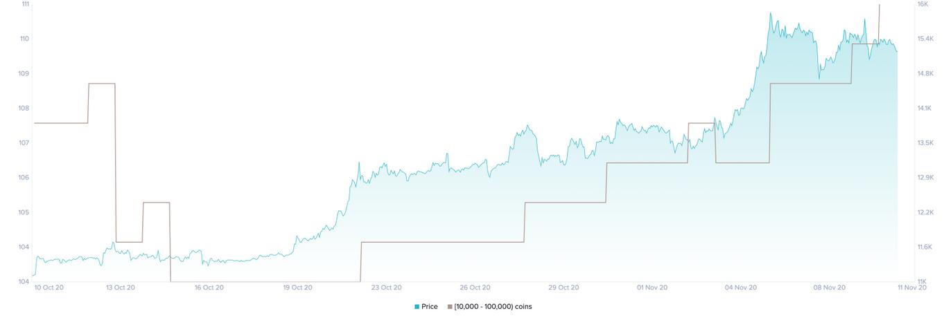 BTC Holders Distribution