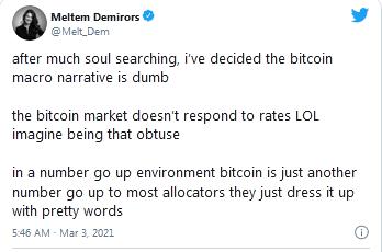 Meltem Demirors' Tweet