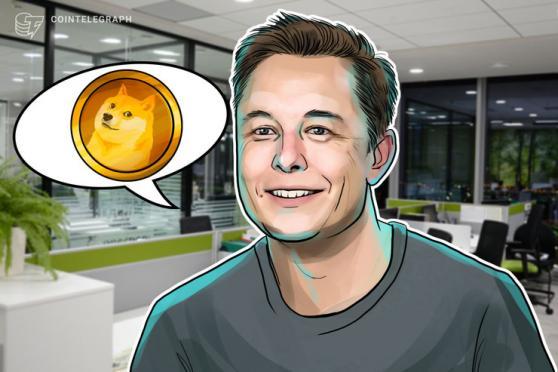 Elon Musk Sees 'Dogecoin Standard' Future — DOGE Price Rises 14%