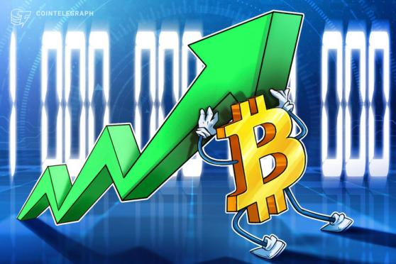 Bitcoin's $1-trillion market holds for 10 days straight