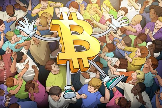 22.3 million Bitcoin addresses were active during January