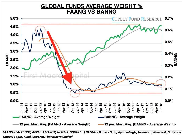 Global Funds in FAANG vs BANNG