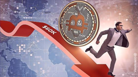 Bitcoin Struggles at 60k. Is Bitcoin Losing Support?