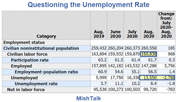 Questioning The Unemployment Rate