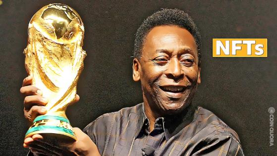 NFT Celebrates the Legacy of Soccer Legend Pelé Drops on Ethernity